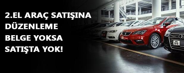 İkinci el araç düzenlemesi Erdoğan'ın önünde: Araç başına 5 bin TL ceza!