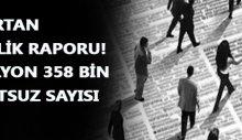 Türkiye'de işsizlik ve sebepleri raporu yayınlandı!