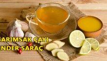 Sarımsak çayı Ender Saraç! Zayıflamaya yardımcı Sarımsak çayı
