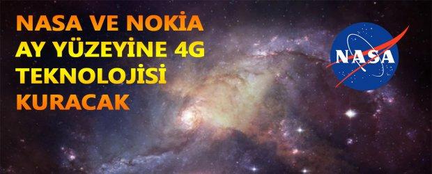 NASA ve Nokia, Ay yüzeyine 4G şebekesi kuracak