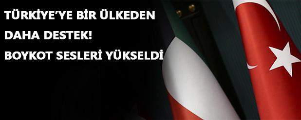 Kuveyt'ten Fransız ürünlerine boykot Türk ürünlerine teşvik