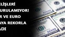 Dolar ve euro haftaya rekorla başladı