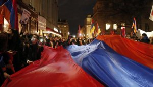 Fransa'da Ermeni protestocular Türklere saldırdı: 5 yaralı