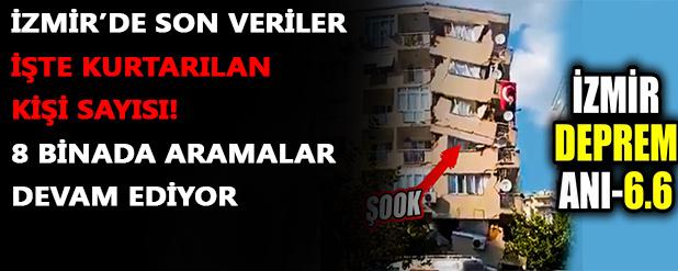 İzmir depremi son verileri