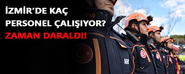 İzmir'de kaç personel çalışıyor?