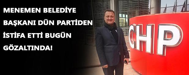 Menemen Belediye Başkanı Serdar Aksoy gözaltında