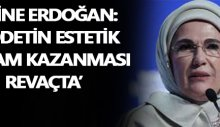 Emine Erdoğan: Mafya babaları rol model olmasın