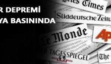 İzmir depremi dünya basınında!