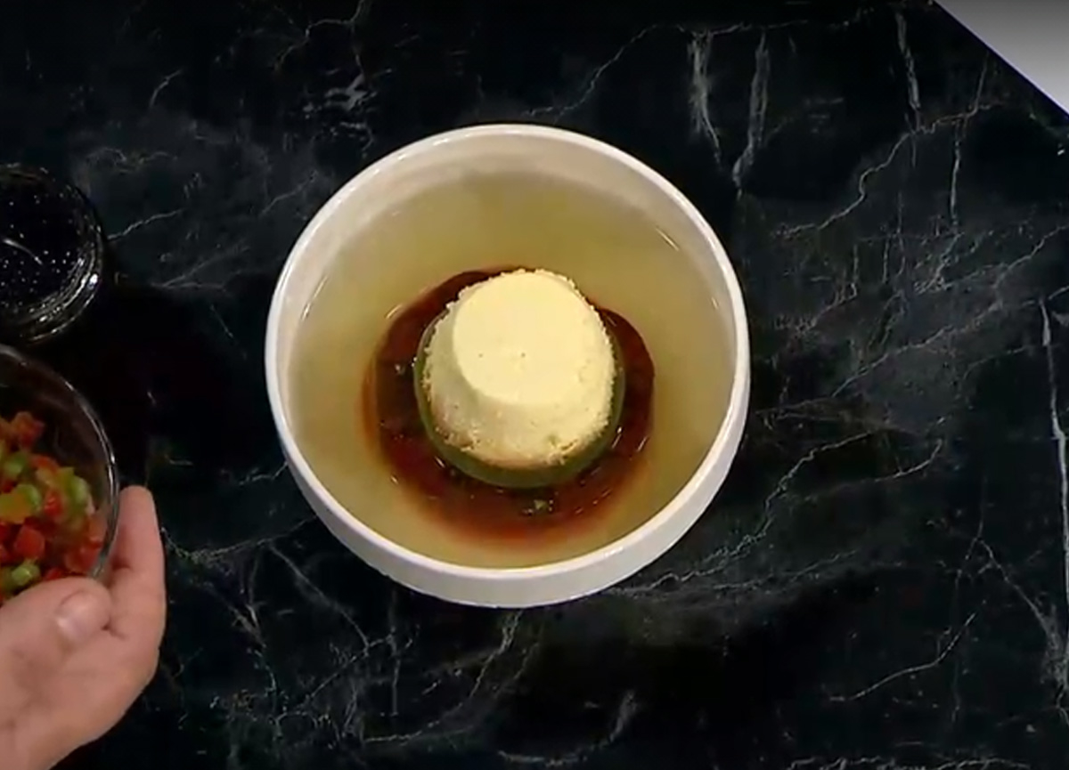 Masterchef Konsome (Consomme) Royal Çorbası tarifi