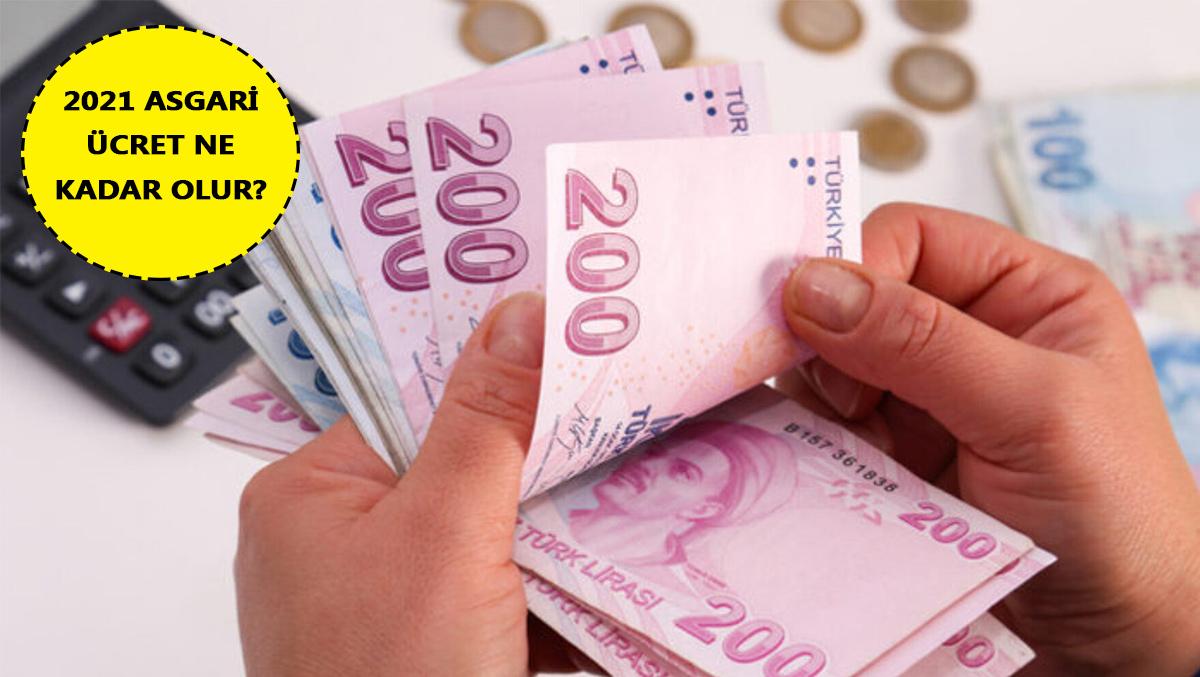 2021 Asgari ücret ne kadar olur? Ücret ne zaman belirlenecek?