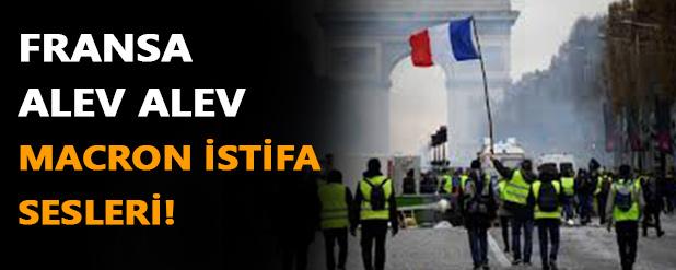 Fransa alevlere teslim!