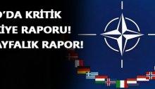Nato'da kritik Türkiye raporu