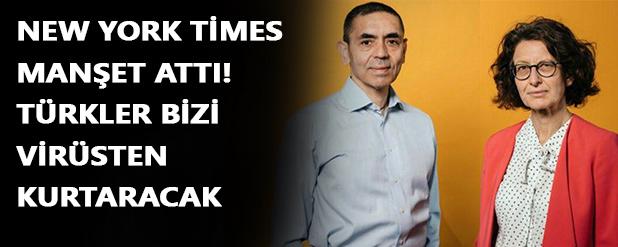 Türkler bizi virüsten kurtaracak