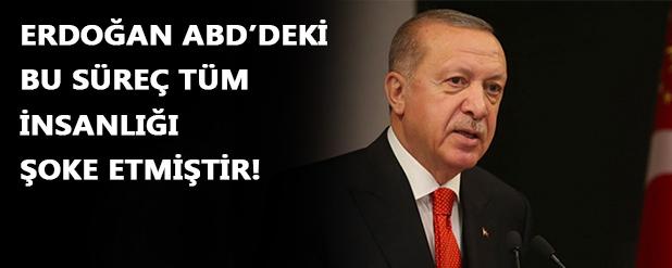 Erdoğan'dan ABD açıklaması