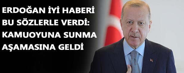 Cumhurbaşkanı Erdoğan: Reform gündemimizi oluşturmaya başladık
