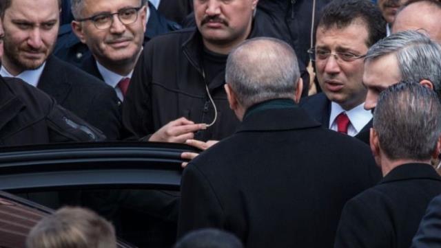 Erdoğan ile görüşen İmamoğlu, iki talebini iletti